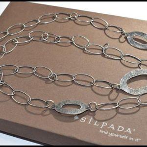 Silpada *vintage* sterling silver necklace